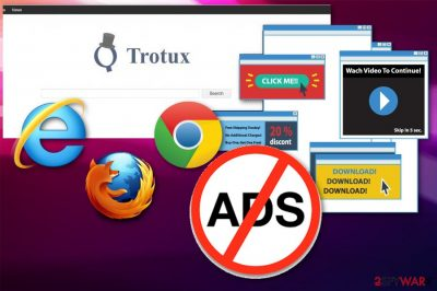 Trotux adware