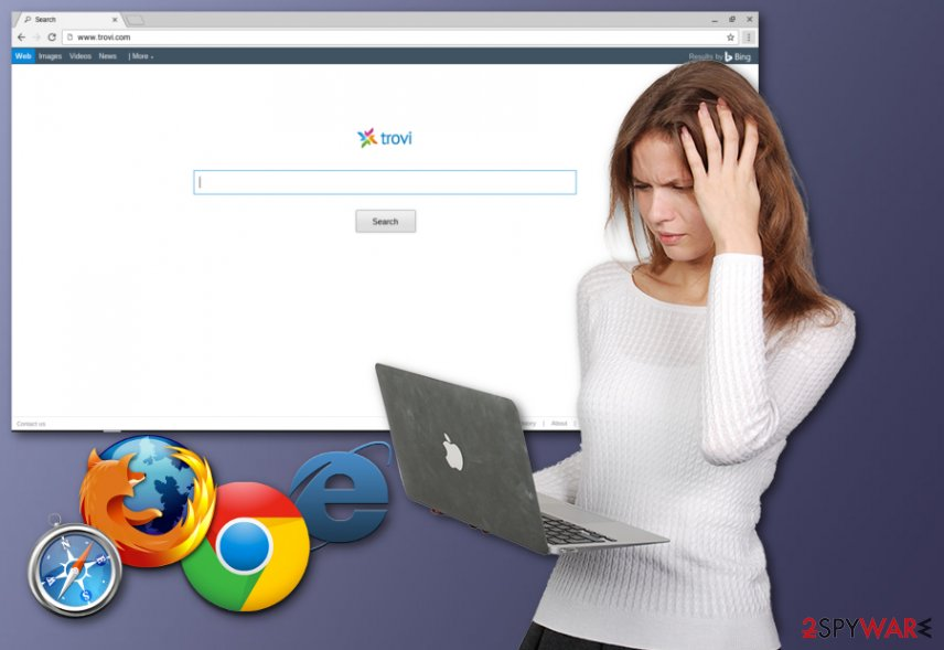 Trovi browser hijacker