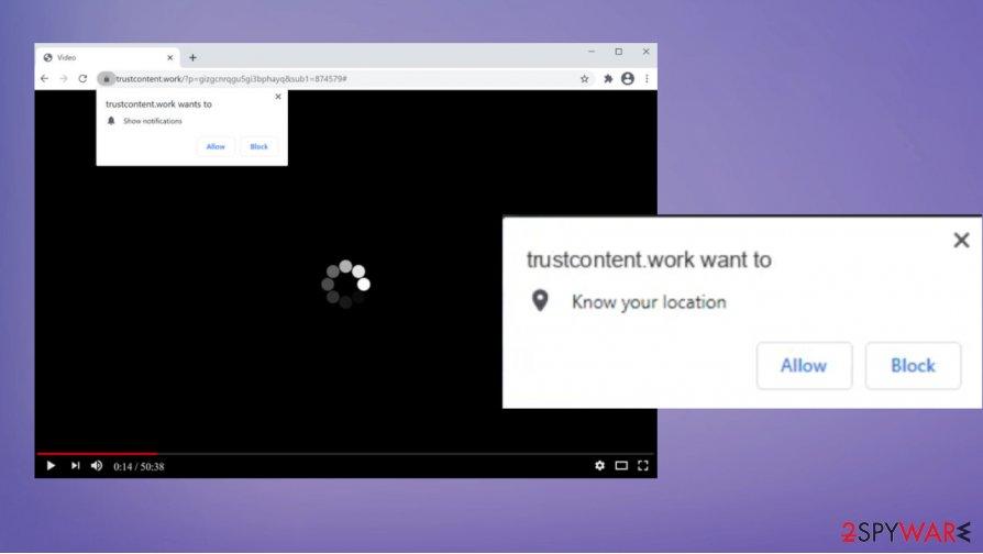Trustcontent.work adware