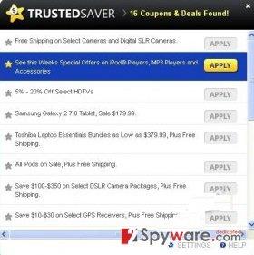 Trusted Saver snapshot
