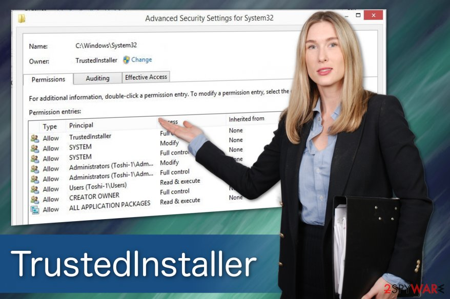 TrustedInstaller virus