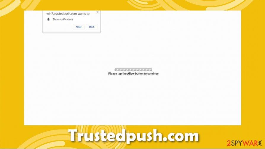 Trustedpush.com ads