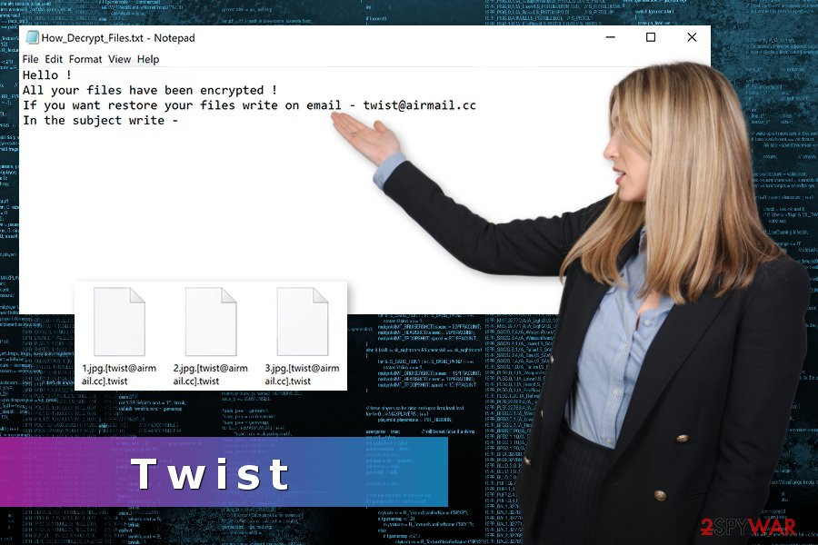 Image of Twist ransomware