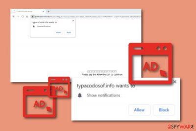 Typacodosof.info adware
