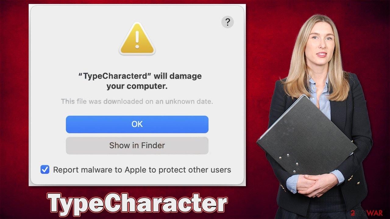 TypeCharacter adware