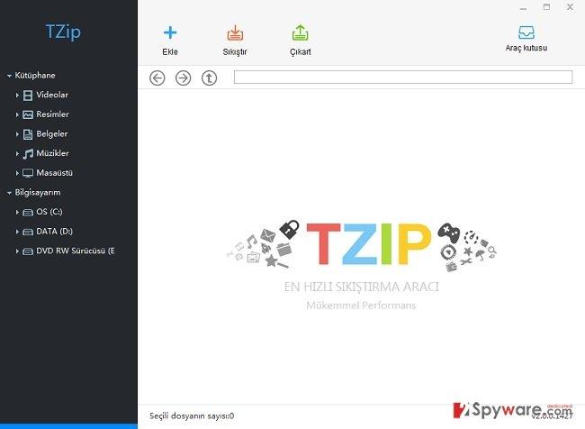 Tzip virus