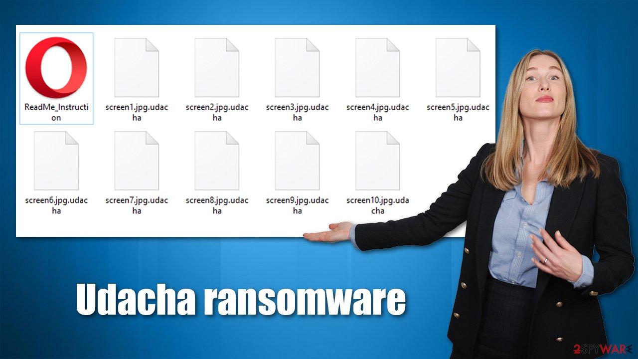 Udacha ransomware virus