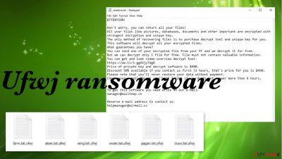 Ufwj ransomware