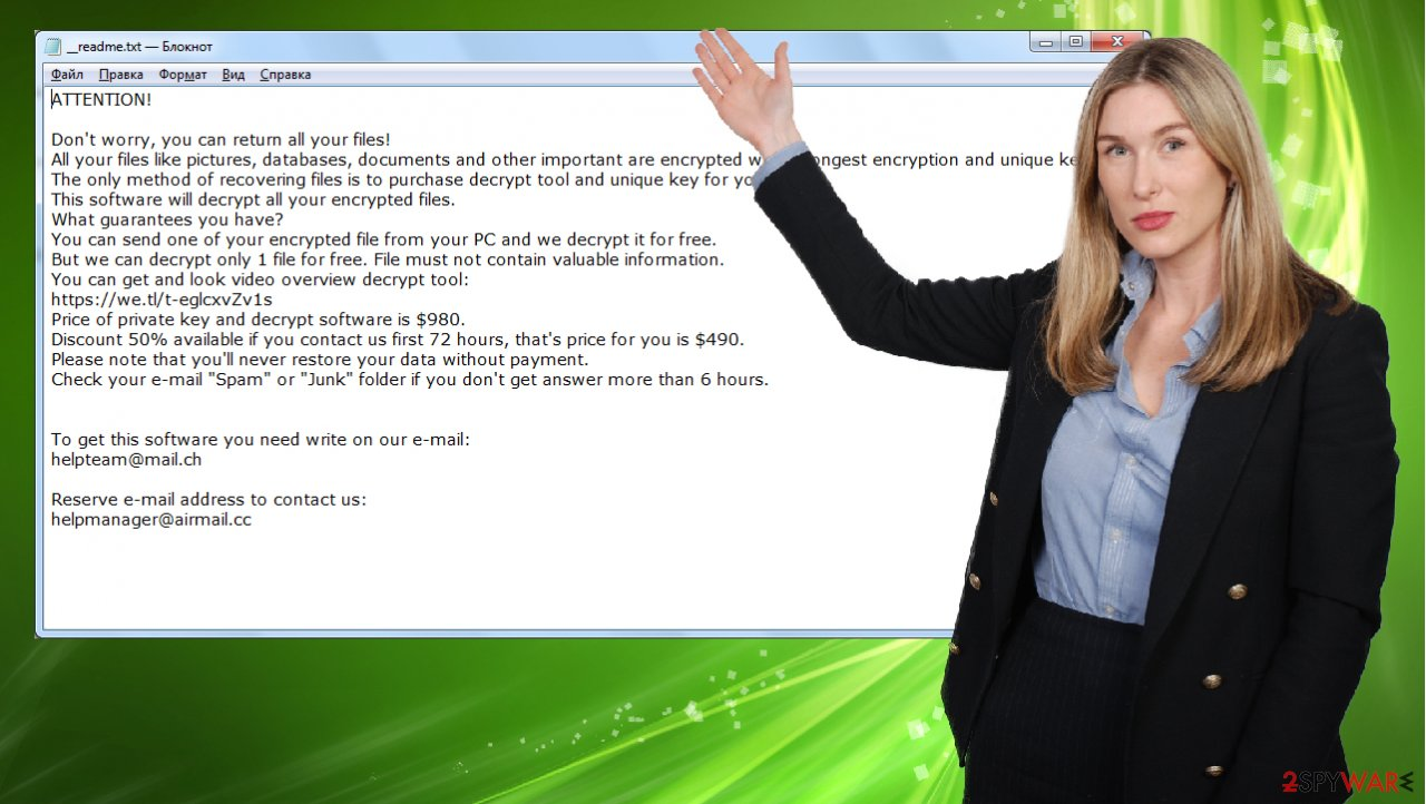 Ufwj ransomware virus
