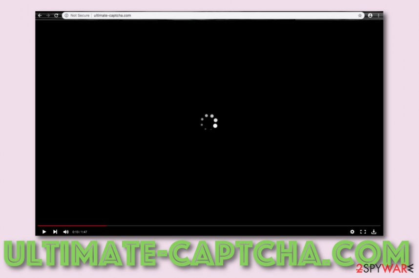Ultimate-captcha.com adware