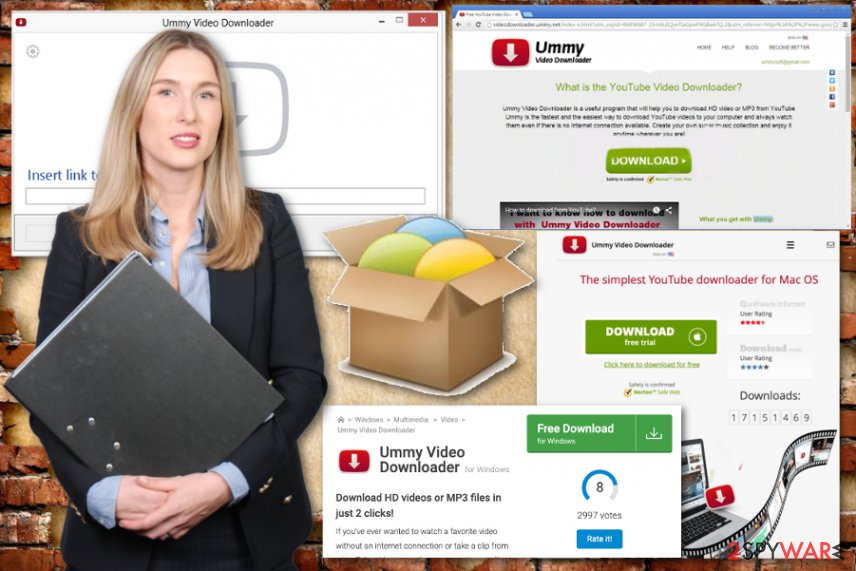 Ummy video downloader adware
