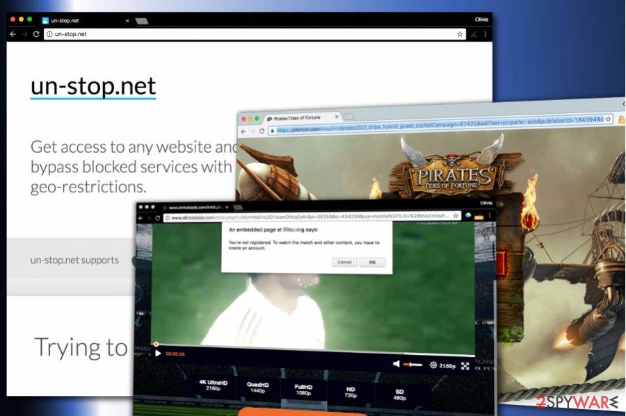 Un-Stop.net virus