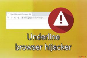 Underline browser hijacker