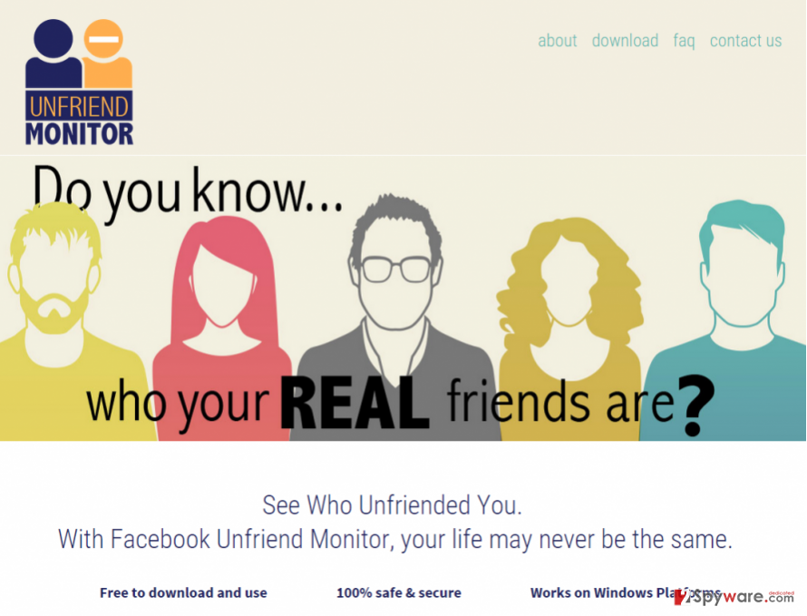 Unfriend Monitor