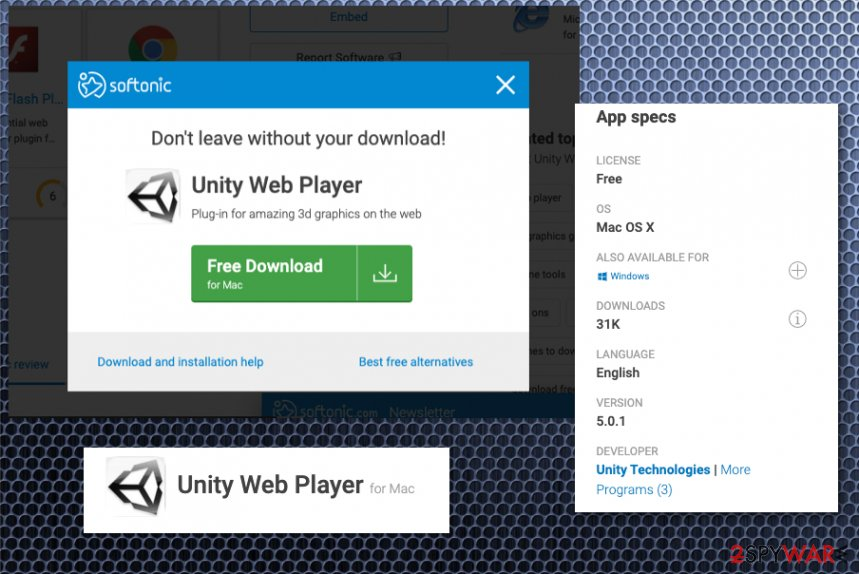 Unity Web Player PUP