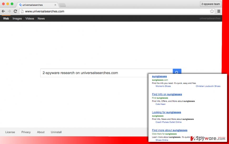 Universalsearches.com hijack