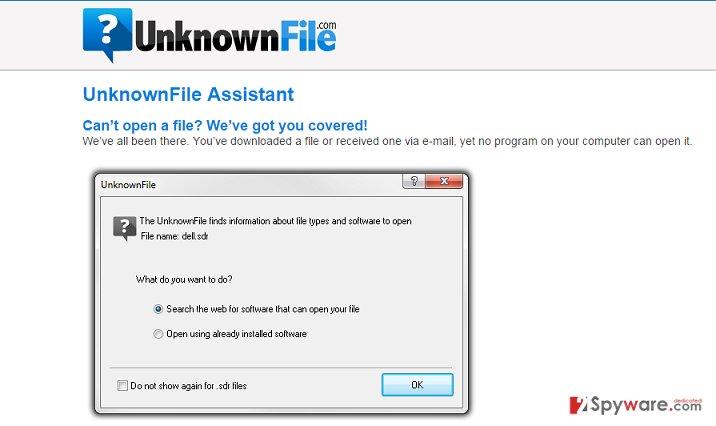 UnknownFile adware