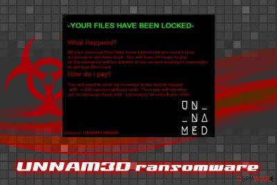 UNNAM3D ransomware