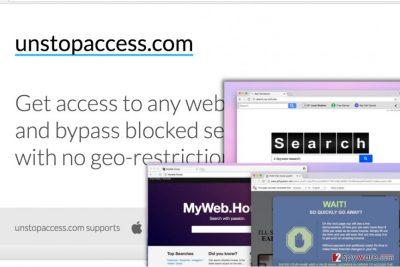Unstopaccess.com ads