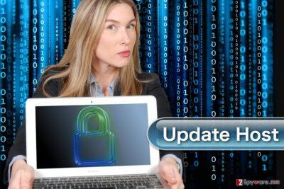UpdateHost virus demonstration