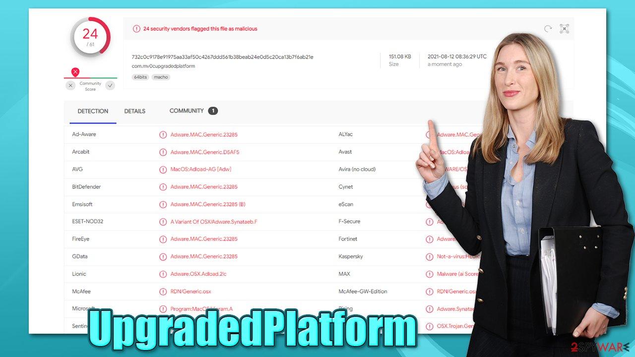 UpgradedPlatform virus