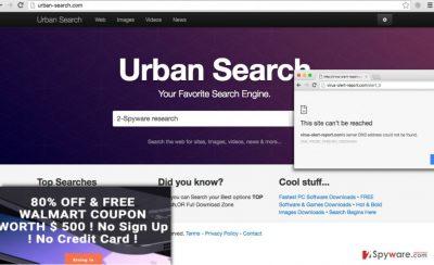 Urban-Search.com search engine is untrustworthy