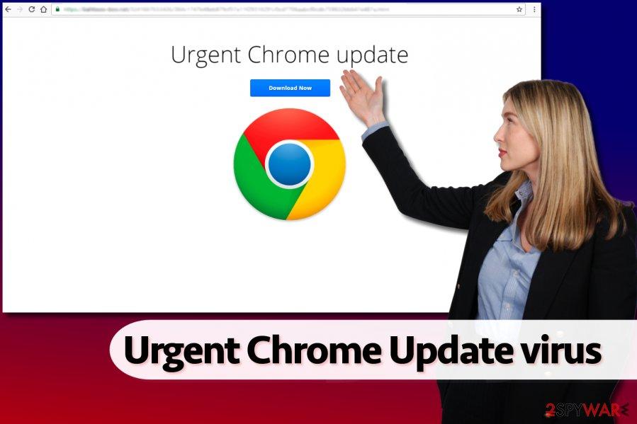 Urgent Chrome Update virus