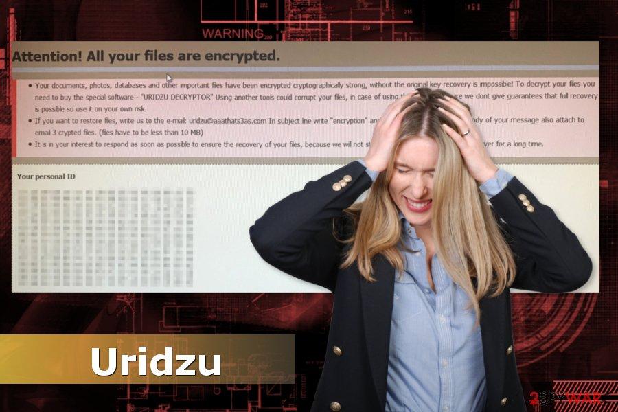 Uridzu ransomware virus