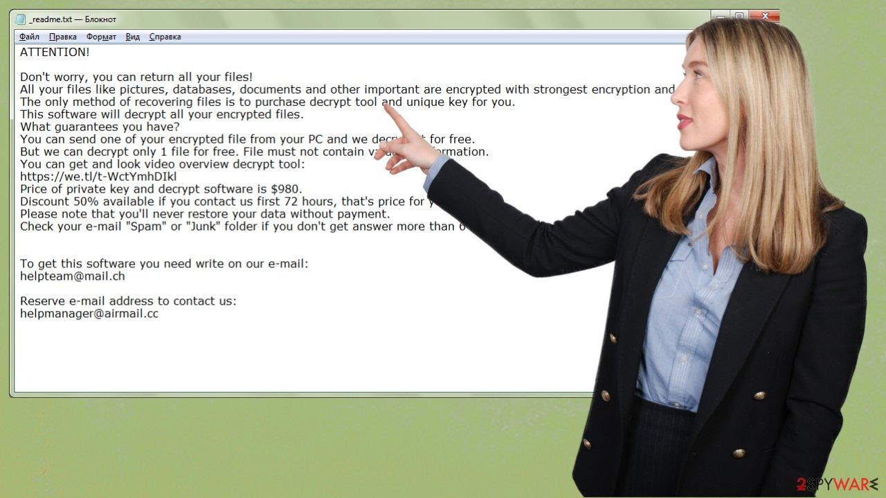 Urnb ransomware virus
