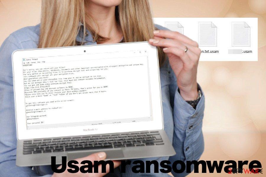 Usam crypto-ransomware