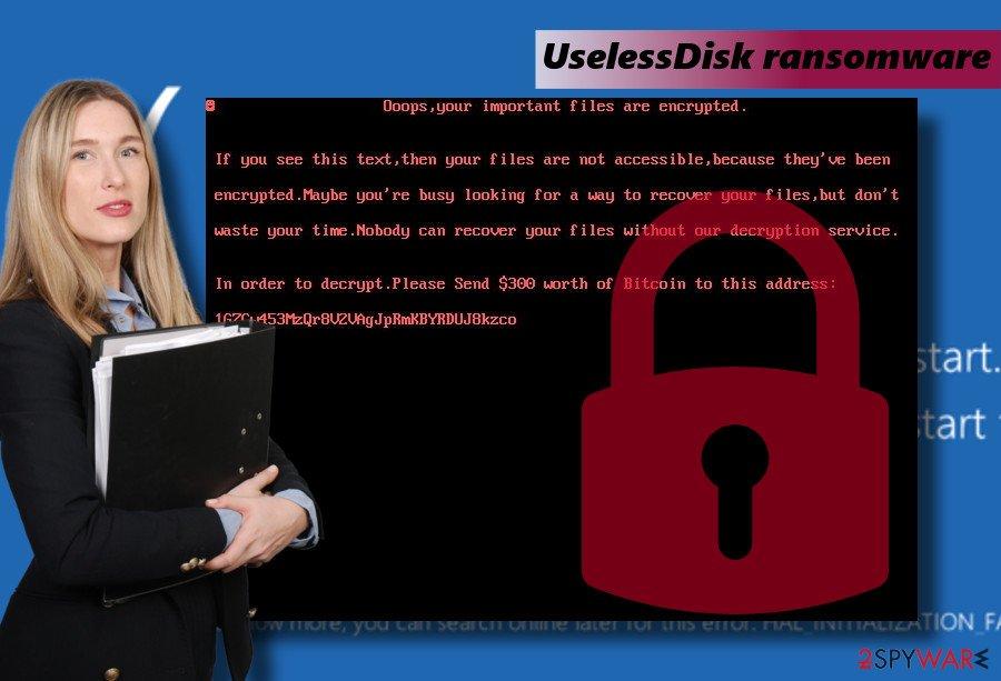 UselessDisk  lock screen