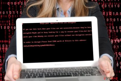 UselessDisk ransomware belongs to the group[ of bootlockers
