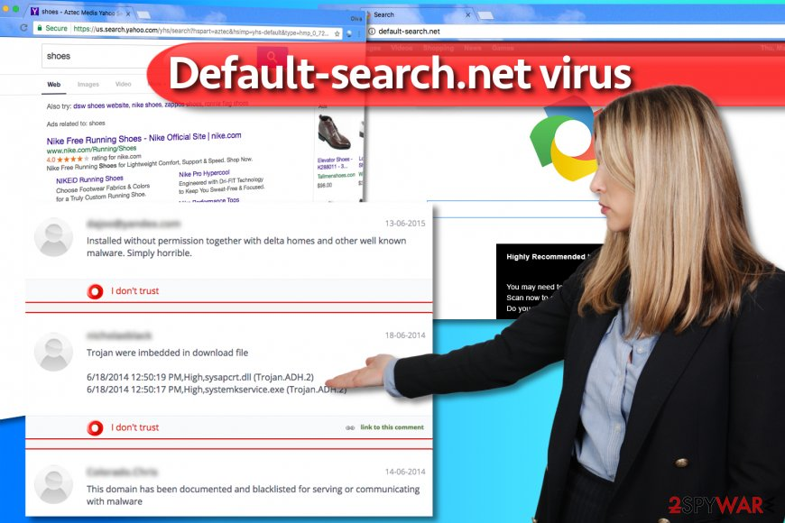 Default-search.net hijack