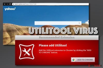 Utilitool browser hijacker