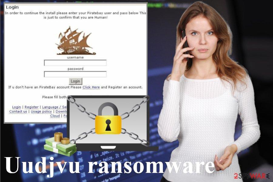 Uudjvu ransomware virus
