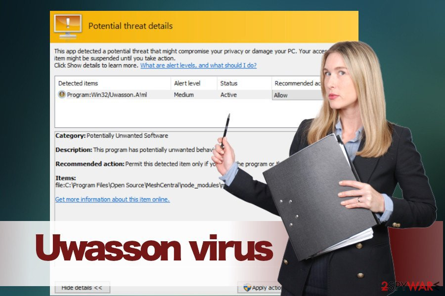 Uwasson adware