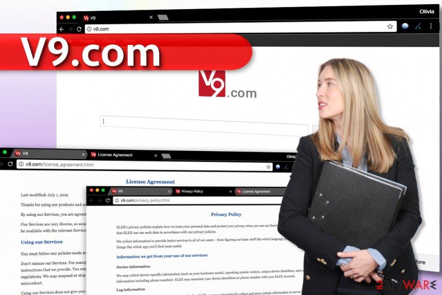 V9.com redirect virus