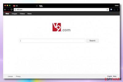 Image of v9.com virus