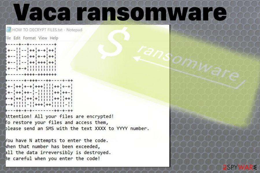 Vaca ransomware