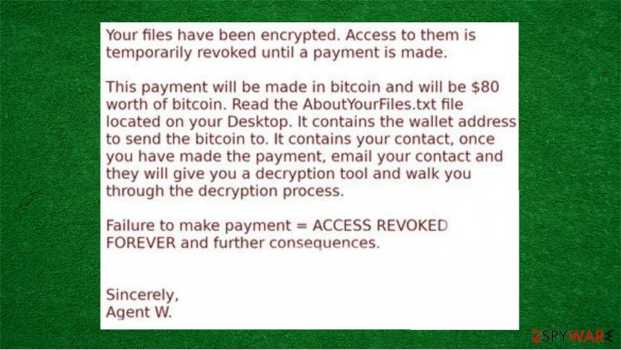 VAGGEN ransomware