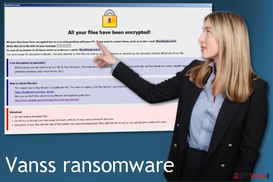 Vanss ransomware
