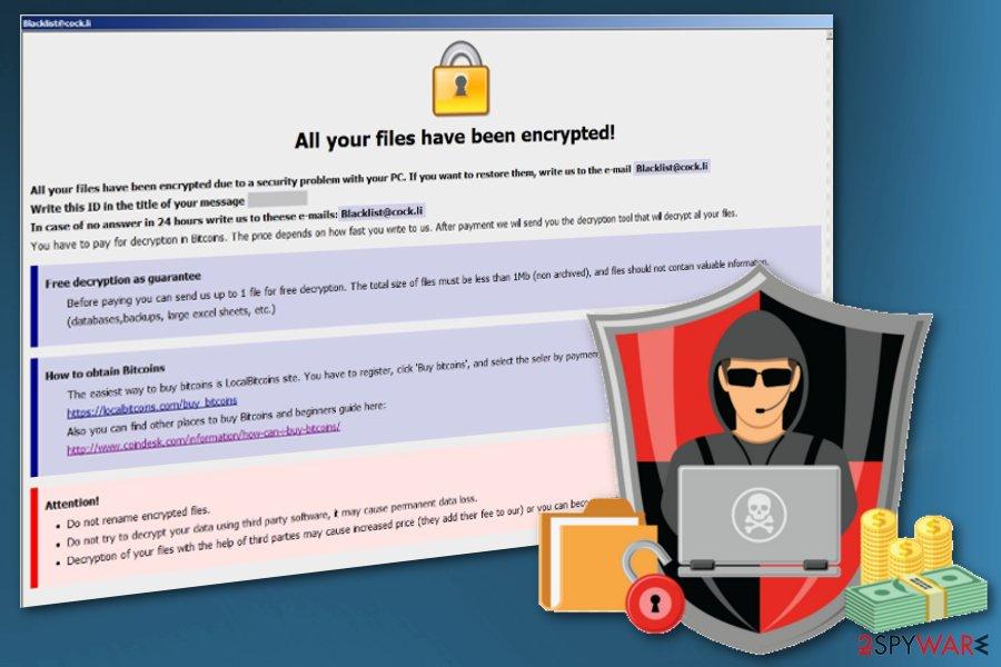 Vanss ransomware virus
