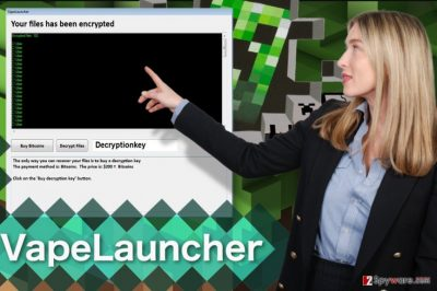 Image of the VapeLauncher virus