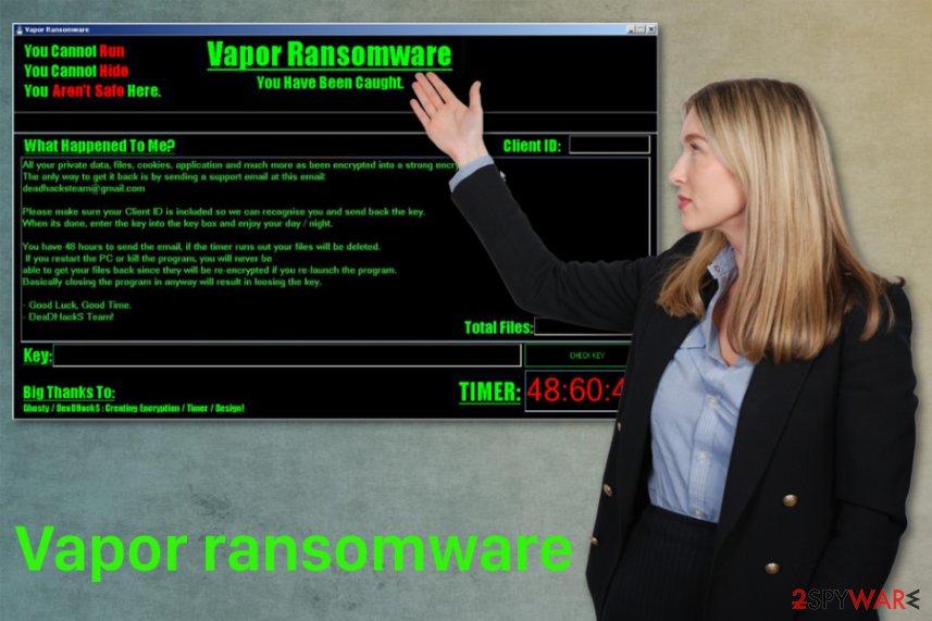 Vapor ransomware