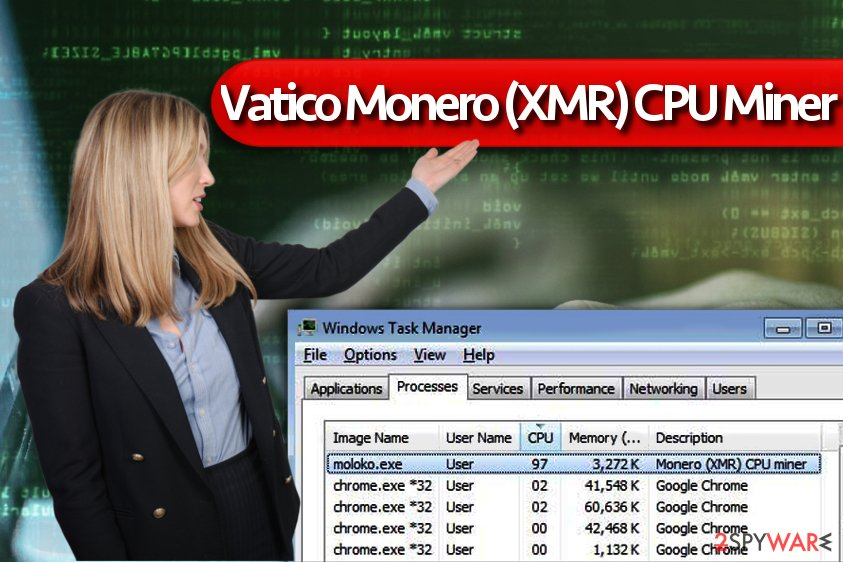 Vatico Monero (XMR) CPU Miner virus