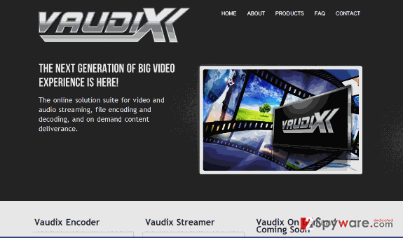 Vaudix virus snapshot