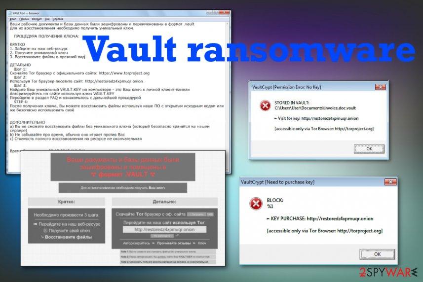 Vault ransomware