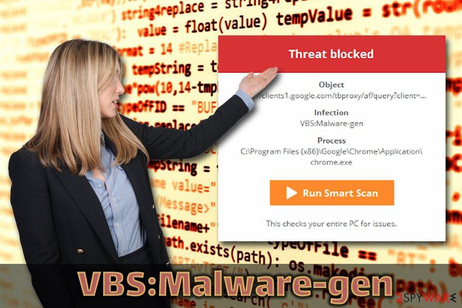 VBS:Malware-gen trojan