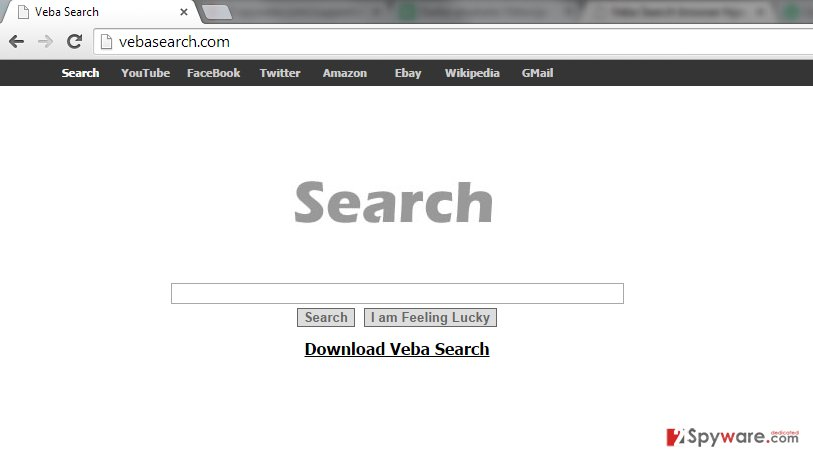 Veba Search snapshot