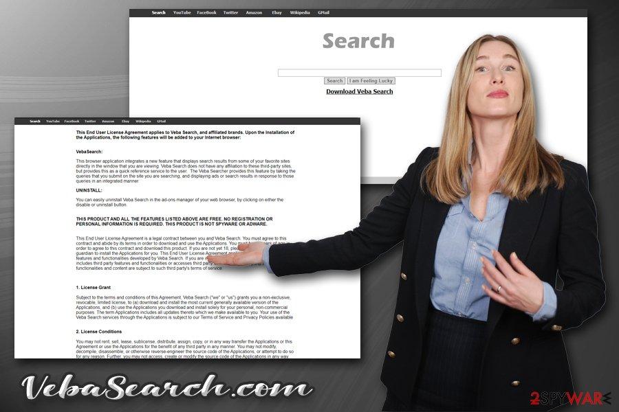 VebaSearch.com browser hijacker